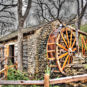 Old Mill by Sal 1701 - Buildings & Architecture Public & Historical