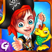 Pirate Fishing Dash - Fish Catching Master Game