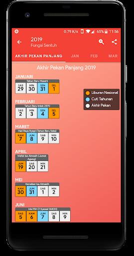 Calendar2U: Indonesia Calendar 2019 - 2020 2.6.8 screenshots 2