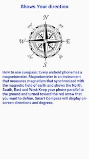 Smart Compass - náhled