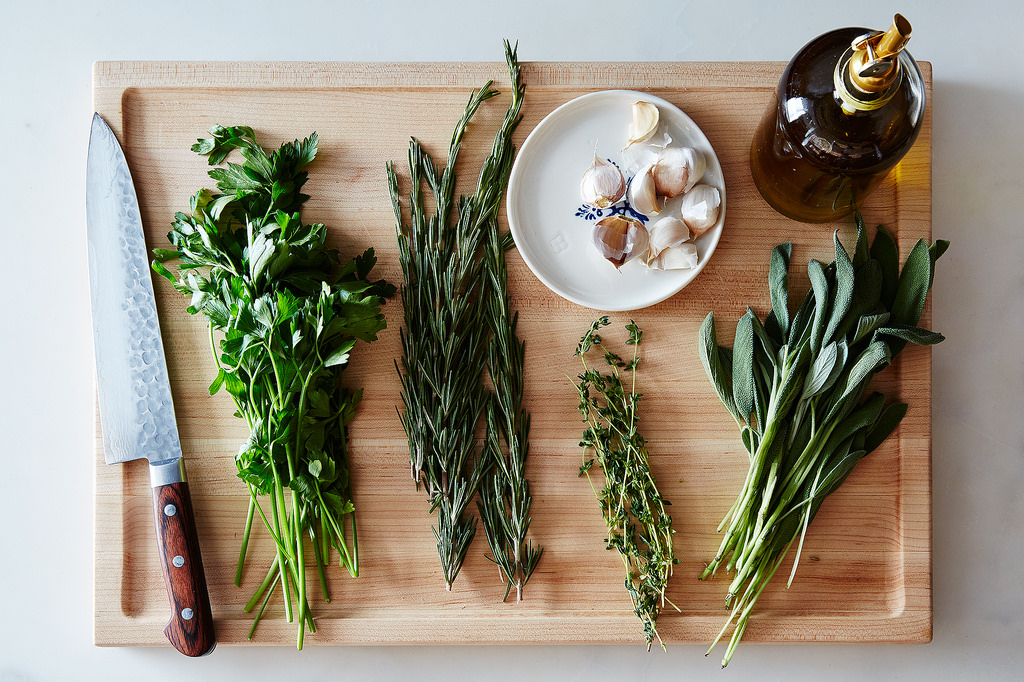 Your favorite herb rub, no recipe required.