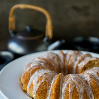 Almond-Coconut Bundt Cake with Lemon Glaze