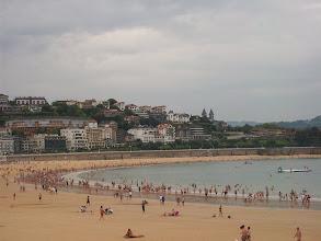 Photo: Plaża w San Sebastian.