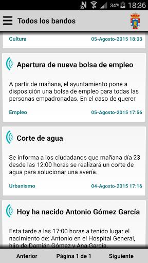 Aldea del Cano Informa