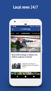 Cambridge News- screenshot thumbnail
