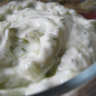 Tzatziki (adapted from Weight Watchers)