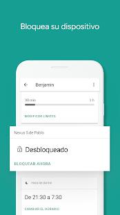 GoogleFamilyLink para padres, madres o tutores Screenshot