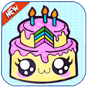 How To Draw Cute Cakes icon
