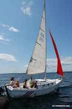 Photo: Sailing is great on Lake Champlain from Knight Island State Park