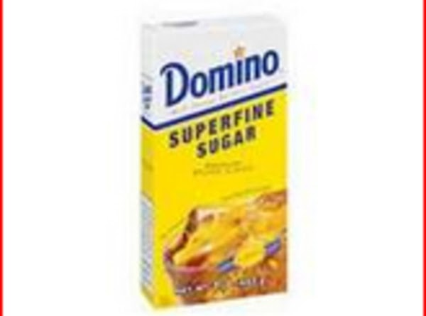Superfine sugar:Also called caster sugar. This is granulated sugar with a very fine texture....