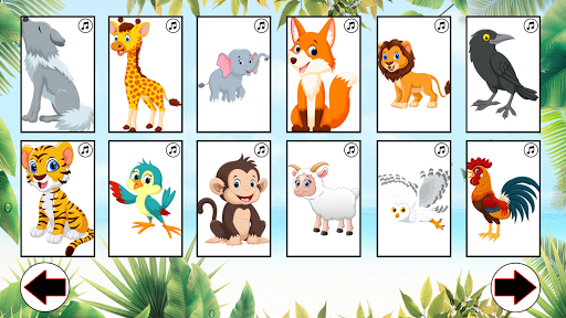 ud83dudc3b Learn animals: animal sounds u2714 1.6 screenshots 4
