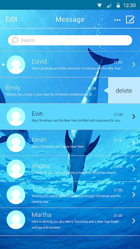Messaging+ L Ocean Theme
