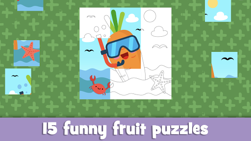 Learn fruits and vegetables - games for kids  screenshots 24