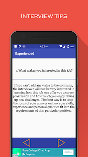 Interview Question Answers- screenshot thumbnail