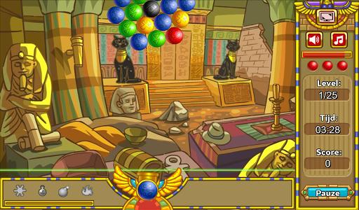 Egyptian Marble Bubble Shooter
