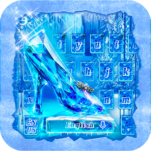 Frozen Crystal Keyboard Theme