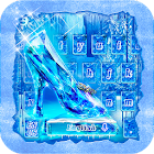 Frozen Crystal Keyboard Theme icon