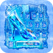 Frozen Crystal Keyboard Theme