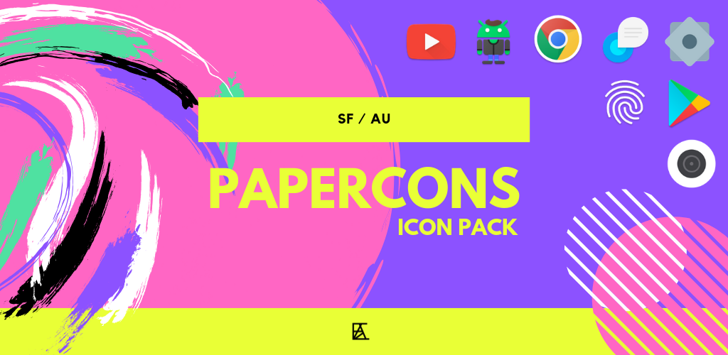 Download Papercons - Pixel Icon Pack APK latest version App