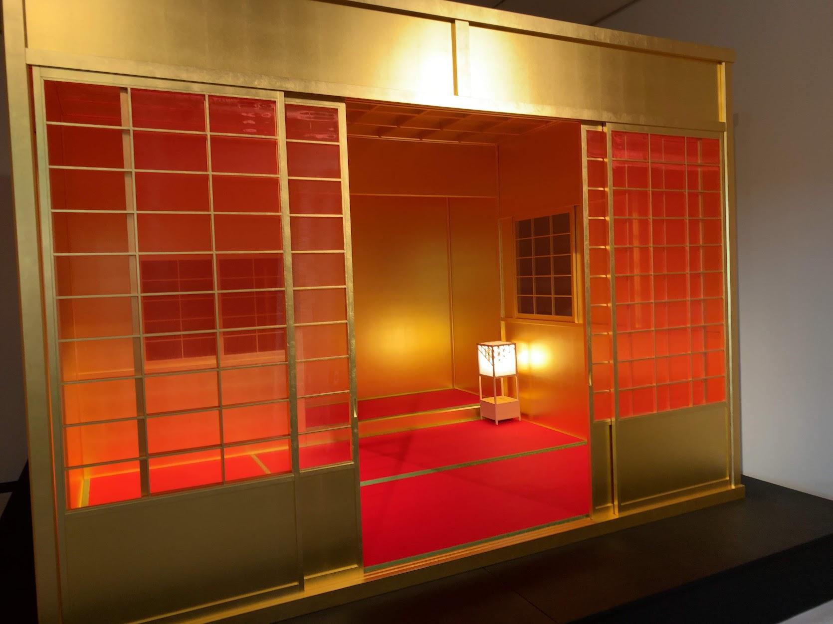 常設展示「黄金の庵」