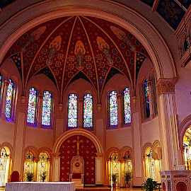 by Karen McKenzie McAdoo - Buildings & Architecture Places of Worship