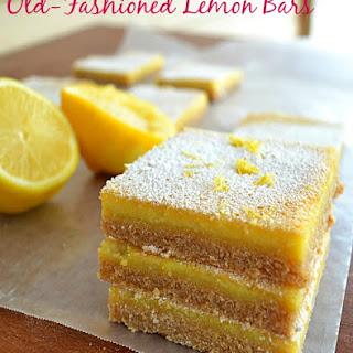 Old-Fashioned Lemon Bars.