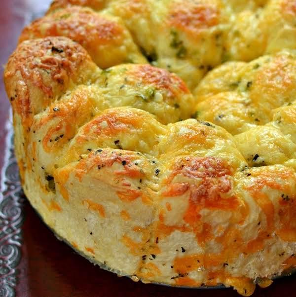 Cheddar Pull Apart Bread Recipe