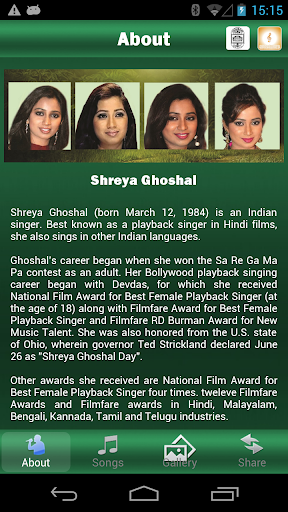 Manorama's Shreya Ghoshal