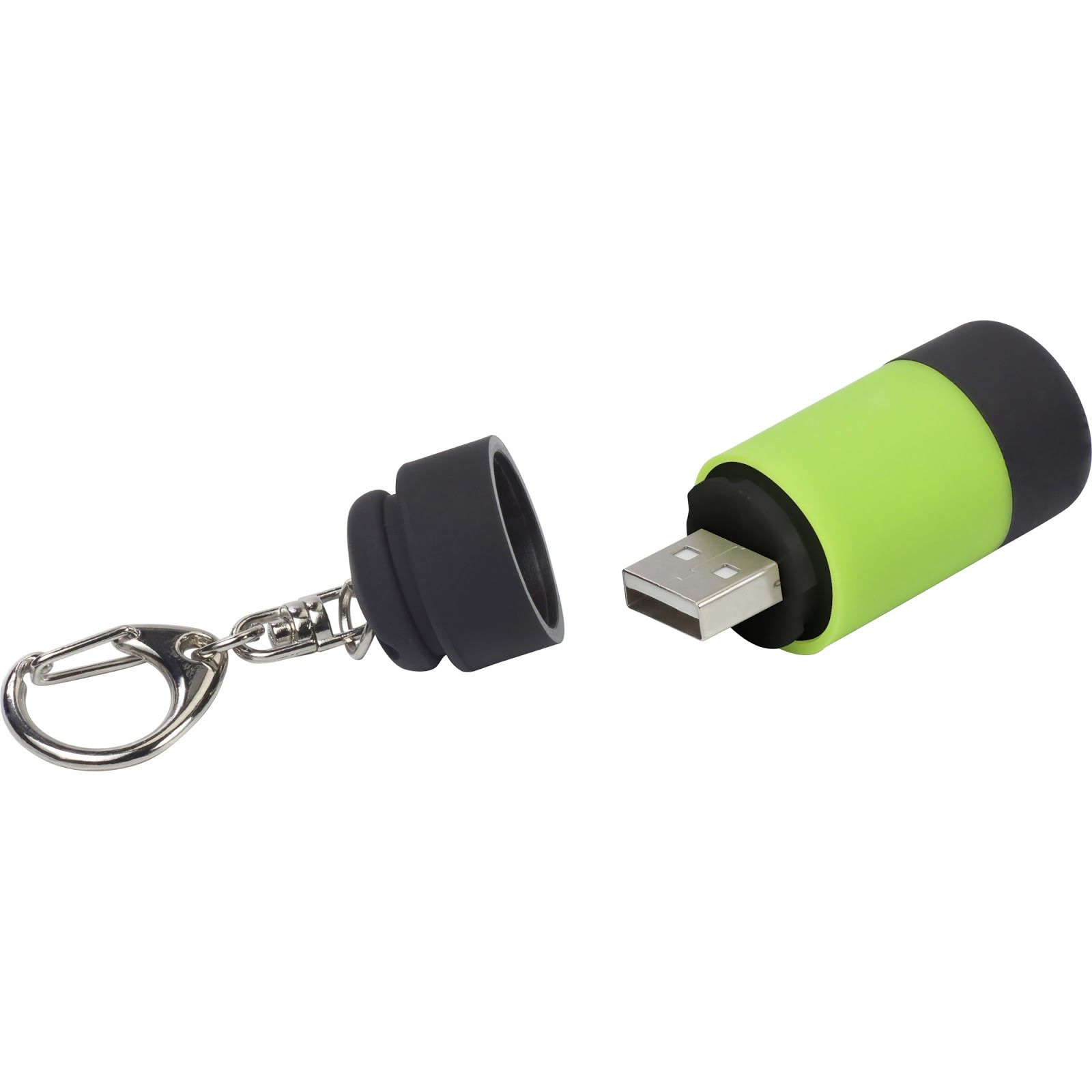 Branded Mini Torch & USB Keyring