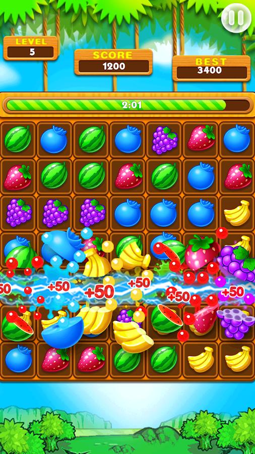 Screenshots of Fruit Splash for iPhone