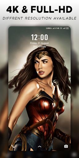 4K Superheroes Wallpapers - Live Wallpaper Changer 1.2.5 screenshots 2