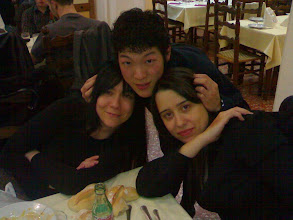 Photo: Eriki, Shoichiro y Alexandra