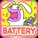 Lips Cat & Rabbit Battery icon