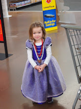 Photo: This little princess still had a good time, and enjoyed dancing with the Royal Ball app throughout the store, bikes or no bikes.