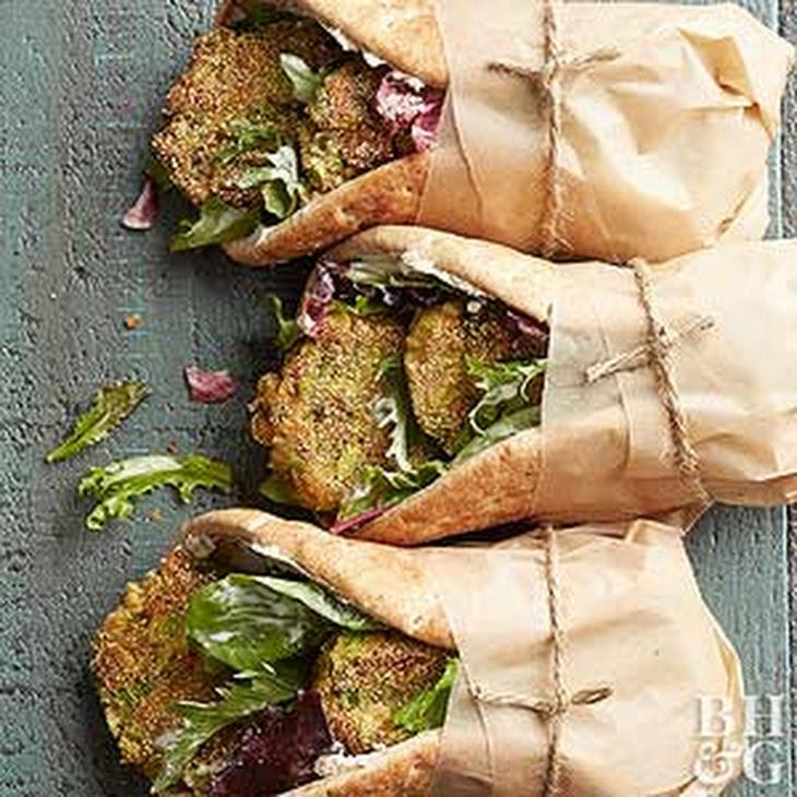 Asparagus Falafel