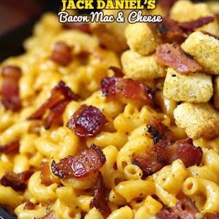 Jack Daniel's Smoky Bacon Mac and Cheese.
