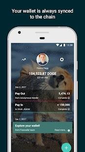 Dogecoin Wallet - náhled
