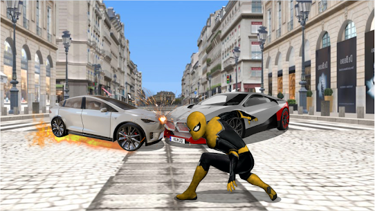 Flying Spider Rope Hero – Super Vice Town Crime 2