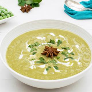 Star Anise Pea, Leek & Parsnip Soup [vegan] [gluten free]