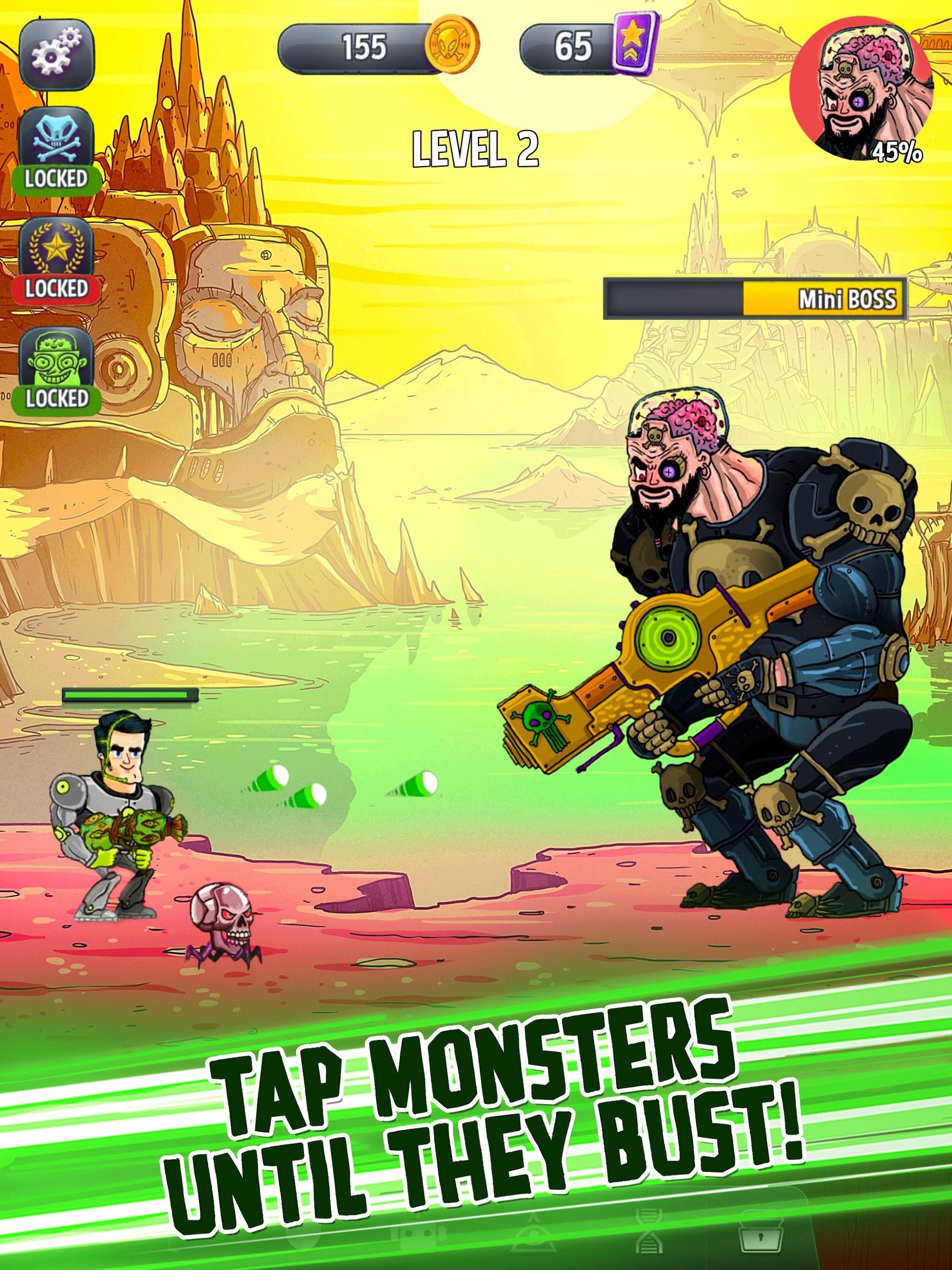 Tap Busters: Galaxy Heroes screenshot #7