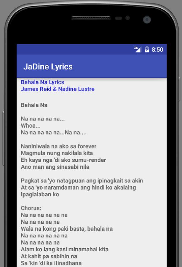 Lyric forever full house lyrics : JaDine - Android Apps on Google Play