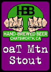 Hand-Brewed Oat Mountain Imperial Oatmeal Stout