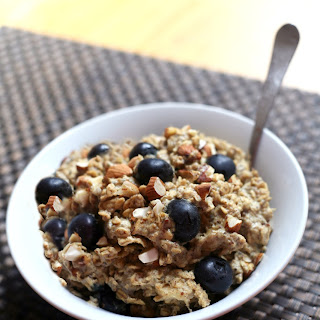 Blueberry Banana Protein-Packed Baked Oatmeal.