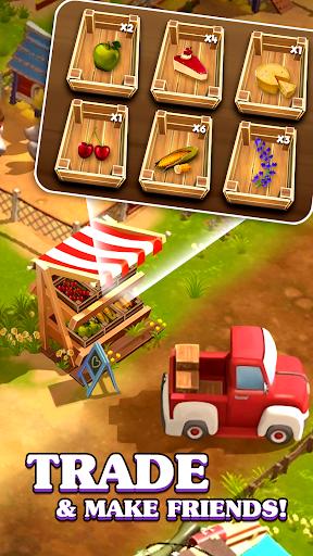 Happy Town Farm: Farming Game apkmr screenshots 3