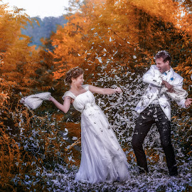 Trash The Dress by Marius Marcoci - Wedding Other ( love, wedding, happiness, fun, grooms )