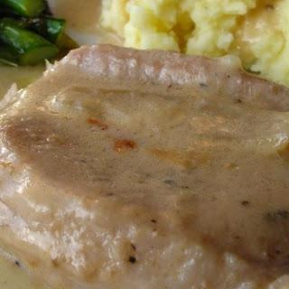Gravy Baked Pork Chops.