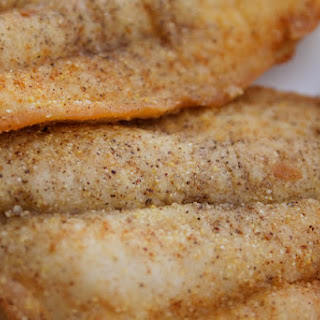 Cornmeal Catfish with Remoulade