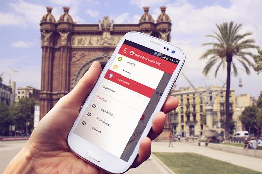 玩免費旅遊APP 下載巴塞罗那Happy 地图 app不用錢 硬是要APP