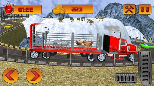 Zoo & Farm Animal Transporter Truck 2018  screenshots 3