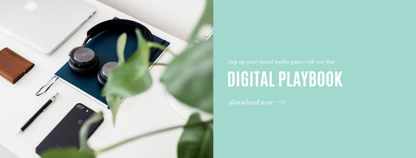 Digital Playbook - Facebook Page Cover Template